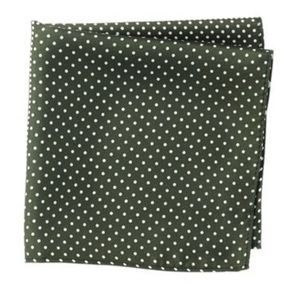 Nordstrom Rack Silk 4 Panel Dot Pocket Square